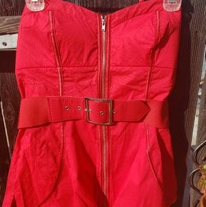 2be bene Red Bustier M